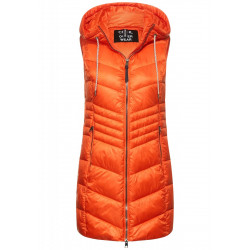 Long Padded Vest by Cecil