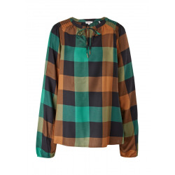 Check blouse by s.Oliver Red Label