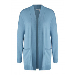 Cardigan with ribbed cuffs by s.Oliver Black Label