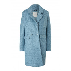 Mottled wool blend coat by Q/S designed by