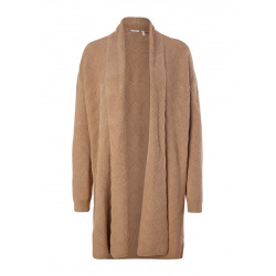 Textured cardigan with wool by s.Oliver Black Label