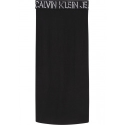 Skirt with logo waistband by Calvin Klein Jeans