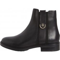 Leather ankle boot by Tommy Hilfiger