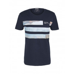 T-shirt with fotoprint by Tom Tailor Denim