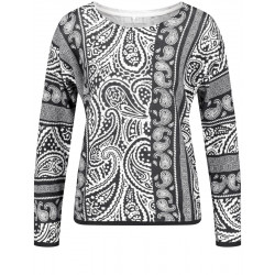 Sweater with paisley pattern by Gerry Weber Casual