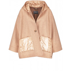 Oversize jacket made of a wool blend by Samoon