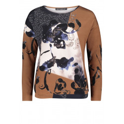 Printed top by Betty Barclay