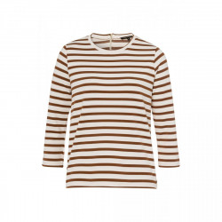 Striped shirt with zipper by More & More