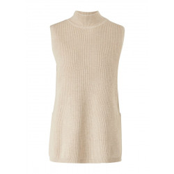 Knitted top with a stand-up collar by s.Oliver Red Label