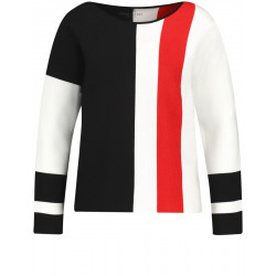 Sweater with color blocking by Gerry Weber Casual