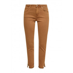Slim: Jeans mit Fransensaum by s.Oliver Red Label