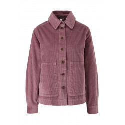 Loose corduroy shirt blouse by Q/S designed by