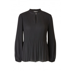Pleated chiffon blouse by s.Oliver Black Label
