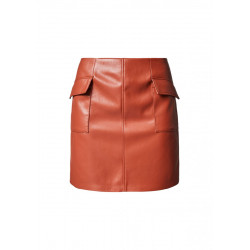 Faux leather skirt by Comma