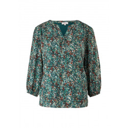 Shirt with floral pattern by s.Oliver Red Label