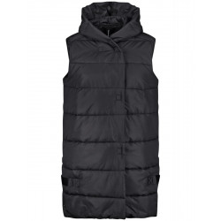 Quilted vest with hood by Samoon
