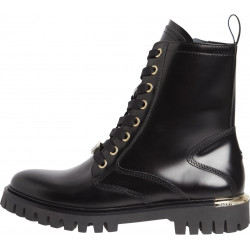 Leather lace-up boots by Tommy Hilfiger