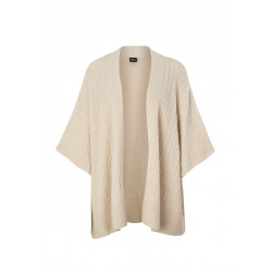 Wool mix poncho with cashmere by s.Oliver Black Label