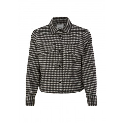 Blouson with check pattern by s.Oliver Black Label