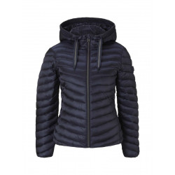 Lightweight quilted jacket with hood by Tom Tailor