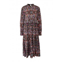 Tiered dress with a floral pattern by Q/S designed by