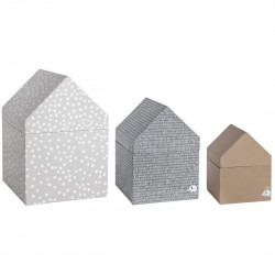 Gift houses set of 3 by Räder