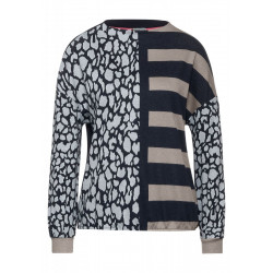 Shirt with a stripe design by Street One