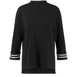 Sweater with turn up sleeves by Gerry Weber Casual