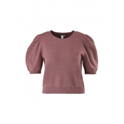 Knitted sweater with puff sleeves by Q/S designed by