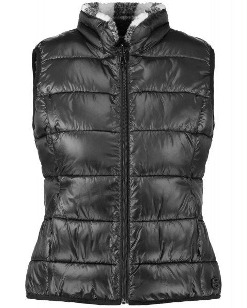 Quilted vest by Taifun