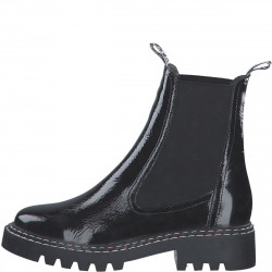 Leather ankle boot Chelsea by Tamaris