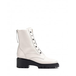 Leather biker boots by Unisa