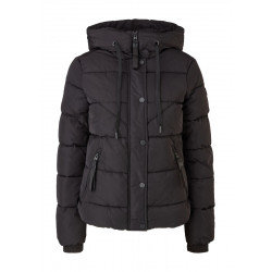 Quilted jacket with ribbed cuffs by Q/S designed by
