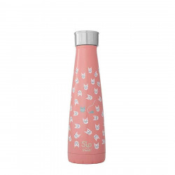 Drinking bottle LOOK AT MEOW (450ml) by Swell
