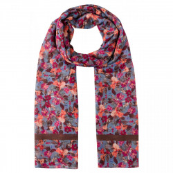 Printed Scarf autumn flowers by More & More
