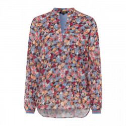 Chiffon Flower Blouse by More & More