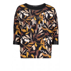 Shirt with floral print by Betty Barclay