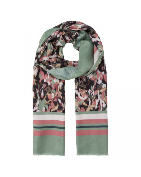 Scarf with camouflage print by More & More
