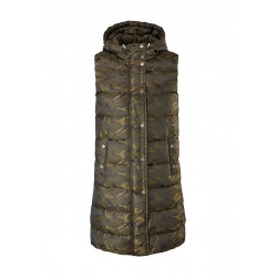 Long quilted vest by comma CI