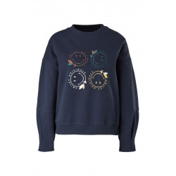 Sweatshirt with print by s.Oliver Red Label