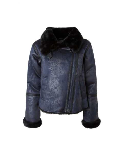 Leather jacket Tessa by Pepe Jeans London