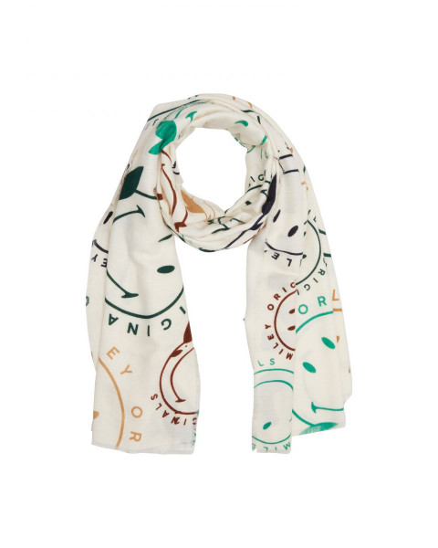 Scarf with Smiley® motif by s.Oliver Red Label