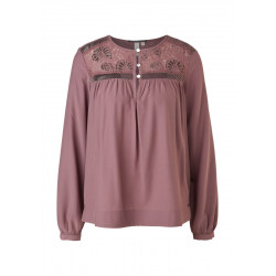 Viscose blouse with lace by Q/S designed by