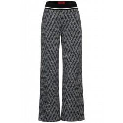 Loose fit trousers with wide legs by Street One