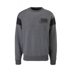 Sweatshirt with contrast details by Q/S designed by