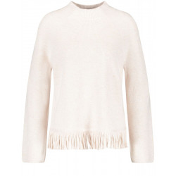 Sweater with a fringed hem by Gerry Weber Casual