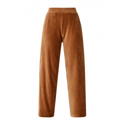 Regular: Wide leg corduroy trousers by s.Oliver Red Label