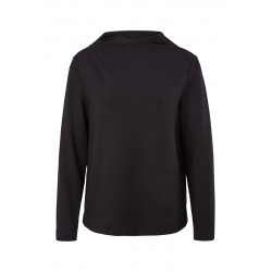 Sweatshirt with a stand-up collar by s.Oliver Black Label