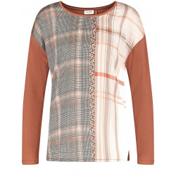 Long-sleeved shirt with patch look by Gerry Weber Collection
