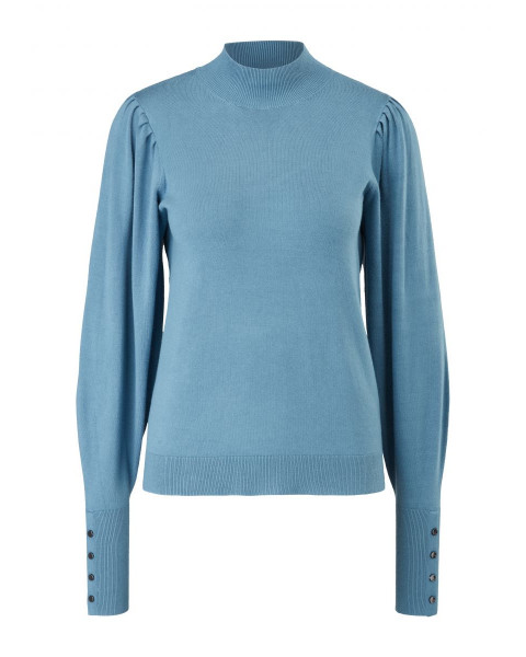 Knitted sweater with ribbed cuffs by s.Oliver Black Label